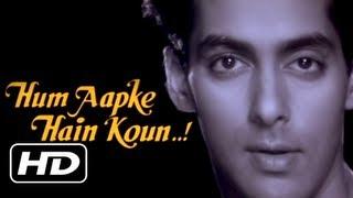 Hum Aapke Hain Koun - Title Song - Salman Khan & Madhuri Dixit - Classic Romantic Song