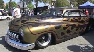 Mercury Lead Sled Chopped And Flamed At Hot Rod Homecoming From Eastwood