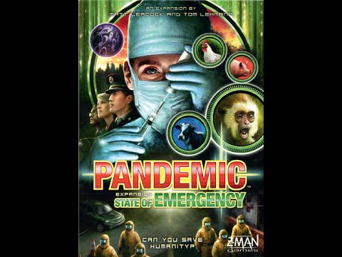 Board Game Brawl Reviews - Pandemic: State of Emergency