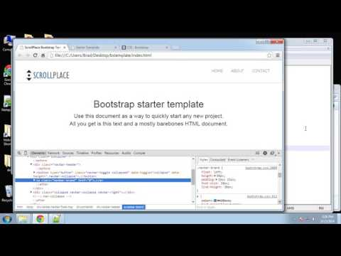 Learn How to Create an Animated Bootstrap Template with HTML - Part 3
