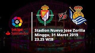 Live Streaming dan Jadwal Laga Valladolid Vs Real Sociedad di HP via MAXStream beIN Sports