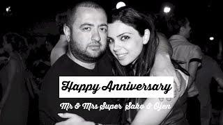 Happy Anniversary Mr & Mrs Super (Sako & Ojen) Spitakci Hayko (Hayk Ghevondyan)