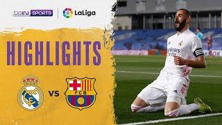 Real Madrid 2-1 Barcelona Pekan 30