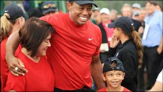 Tiger Woods Celebrates With Girlfriend Erica Herman After The Masters 2019 Victory