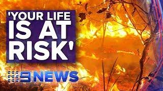 Unprecedented bushfire event unfolding across NSW | Nine News Australia