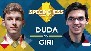 Jan-Krzysztof Duda vs. Anish Giri: 2019 Speed Chess Championship