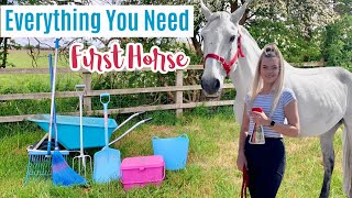Everything You Need For Your First Horse | Beginner Series
