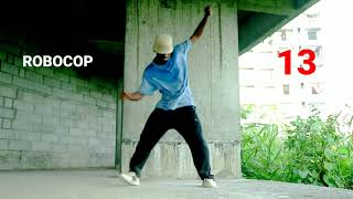 23 Hip-Hop Steps With Names | Chapter II | Dance Vocabulary New