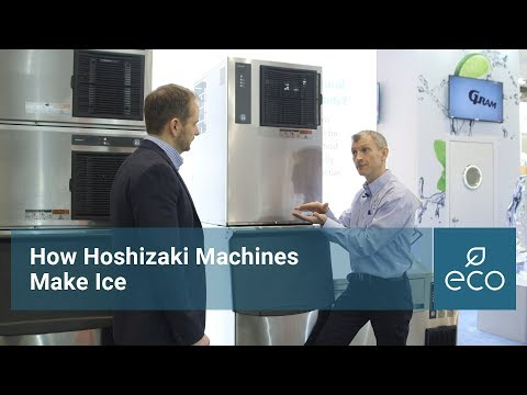 How Hoshizaki Machines Make Ice