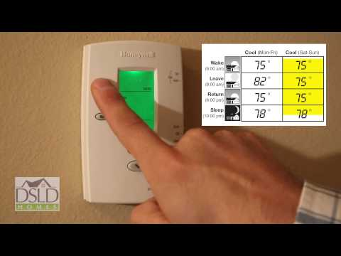 Download Thermostat Programming - Honeywell® Pro-2000 Mp4 HD Video and MP3