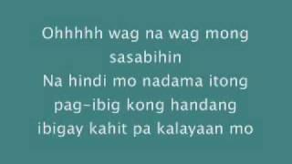 wag na wag mong sasabihin by kitchie nadal lyrics