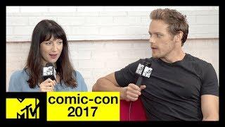 SDCC 2017 - MTV Interview - Caitriona Balfe & Sam Heughan