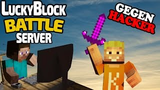 NEUES LUCKY BLOCK BATTLE WARFARE LUCKY WARFARE PVP Minecraft - Minecraft lucky block jetzt spielen