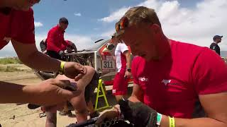 Martin Prokop DAKAR 2018 - Stage 10 mechanics in action !!