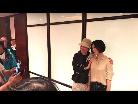 2019.04.20 慶祝街演兩週年 -  開場準備花絮-2, 香港旺角小龙女龙婷