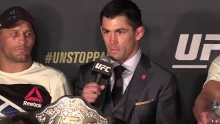 Dominick Cruz and Urijah Faber Rivalry Spills Over to UFC 199 Post-Presser