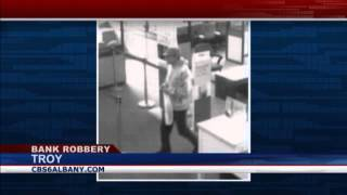Troy Police search for bank robber