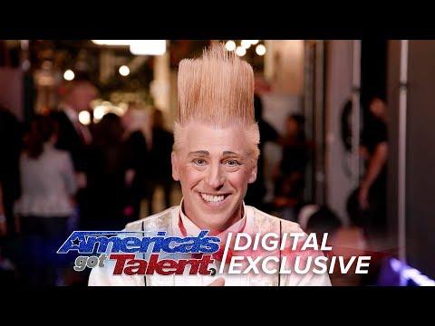 Elimination Interview: Bello Nock Achieves His Dreams - America's Got Talent 2017 (видео)
