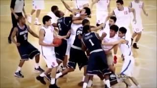 China Basketball Fights Vs The World