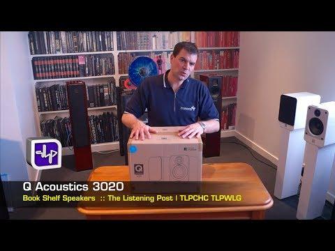 Q Acoustics Q3020 Bookshelf Leather Speakers Unboxing | The Listening Post | TLPCHC TLPWLG