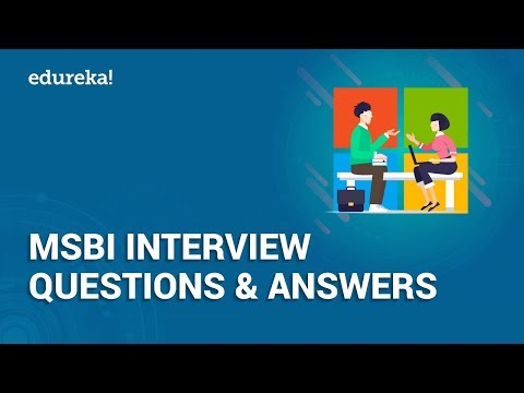 MSBI Interview Questions And Answers | MSBI Certification Training ...