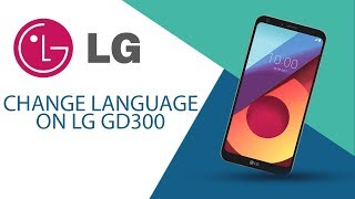 How to change language on LG GD300S?
