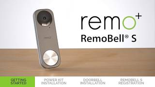 RemoBell S Installation and Set Up Guide