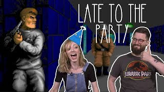 Let's Play Wolfenstein 3D - Late To The Party