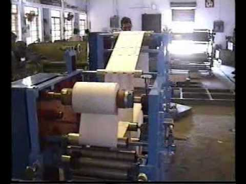 Flexographic Printing with Slitting Attachment