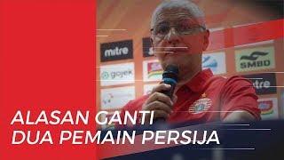 Alasan Pelatih Persija Ganti Dua Pemainnya di Babak Pertama saat Tertinggal 0-3