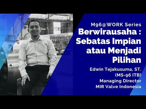 M96@Work Series - Berwirausaha : Sebatas Impian atau Menjadi Pilihan