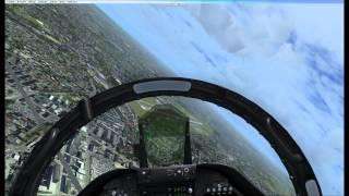 F-18 aerobatic over Halim P. AFB