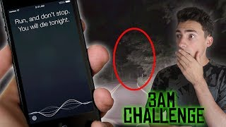 DO NOT TALK TO SIRI AT 3AM ON CLINTON ROAD // 3 AM CHALLENGE ON WORLD'S MOST HAUNTED ROAD