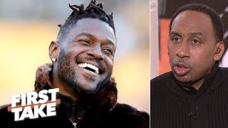 Antonio Brown-Steelers trade speculation appalling to Stephen A. | First Take