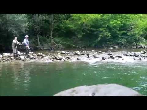 Fly fishing in Tuscany