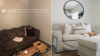 DIY Small Living Room Makeover