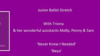 Junior Ballet Stretch with Triona