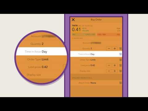 كيفية التداول عبر تطبيق الجوال في دراية جلوبل