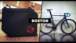 Getting Lost in Boston on a Track Bike & Post Carry Co. Bike Case