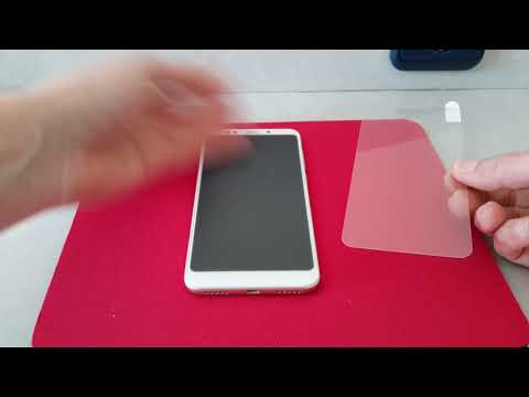 Checking NILLKIN Tempered Glass for Xiaomi Redmi 5 Plus from BANGGOOD
