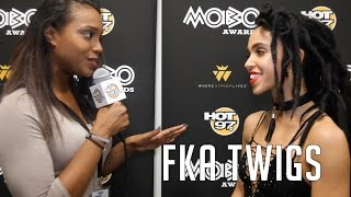 UK Songbird FKA Twigs Talks Infusing Personality & Vulnerability Into Her Music.