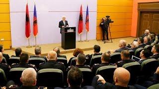 """Report TV - Prezantohet ministri i ri, Xhafaj: Duhet """"Vetting"""" dhe për policët"""