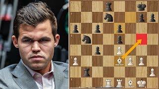 Nerves of Steel | Carlsen vs Caruana 2018. | Game 1 RAPID