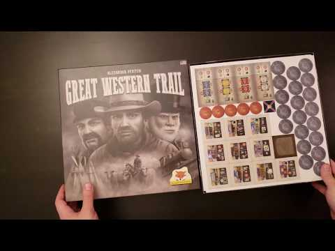 Great Western Trail - Whats in the Box?