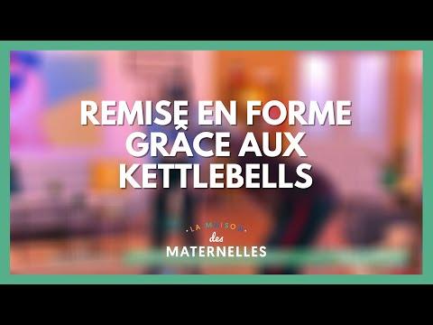 Remise en forme grâce aux kettlebells - La Maison des maternelles #LMDM