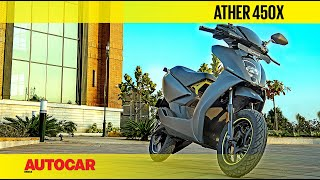 Ather 450X Review - X hits the spot? | First Ride | Autocar India