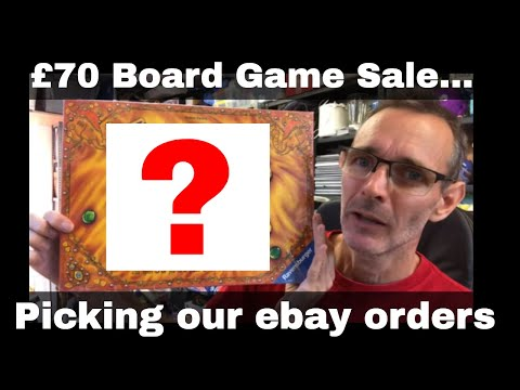 Work from home selling on ebay - LET'S PICK ORDERS...