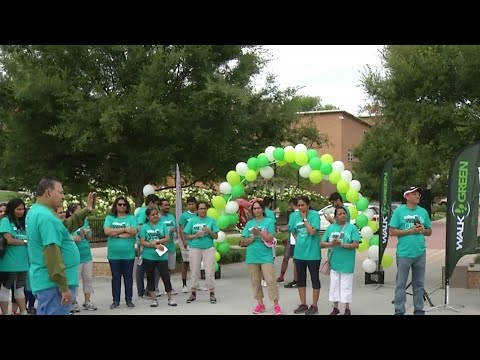 Walk Green event for a more healthy environment