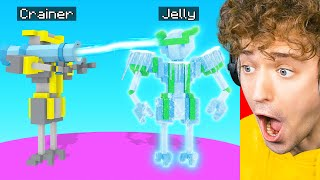 Using A FREEZE GUN On Jelly! (Clone Drone In The Danger Zone)