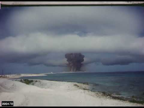 Impresionante film sobre test nucleares.
